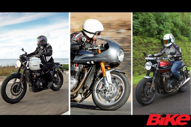 triumph motorcycles discontinued bs6