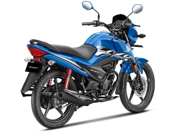 rear design of new Honda motorcycle livo bs6