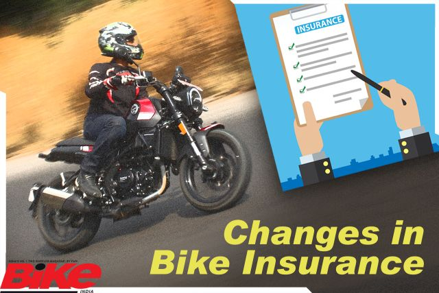 motorcycle insurance changes
