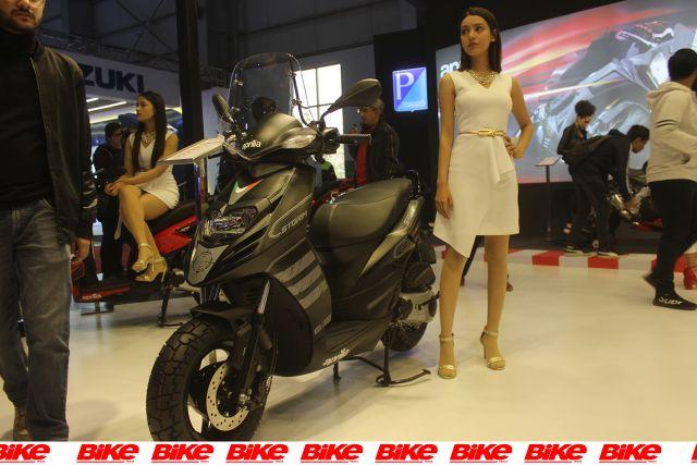 aprilia scooter disc variant storm 125