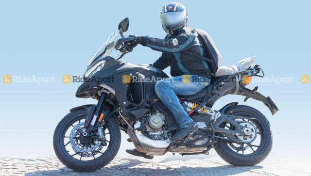 All New Ducati Multistrada V4 Spied Being Tested