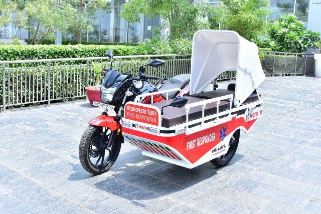 Hero MotoCorp's First Responder Vehicle WEB