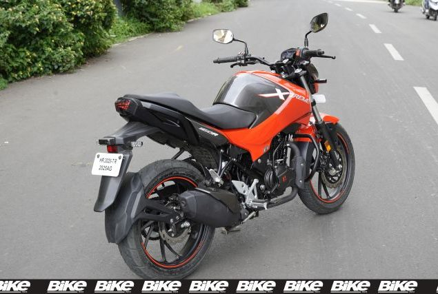 hero xtreme 160r motorcycle first ride review
