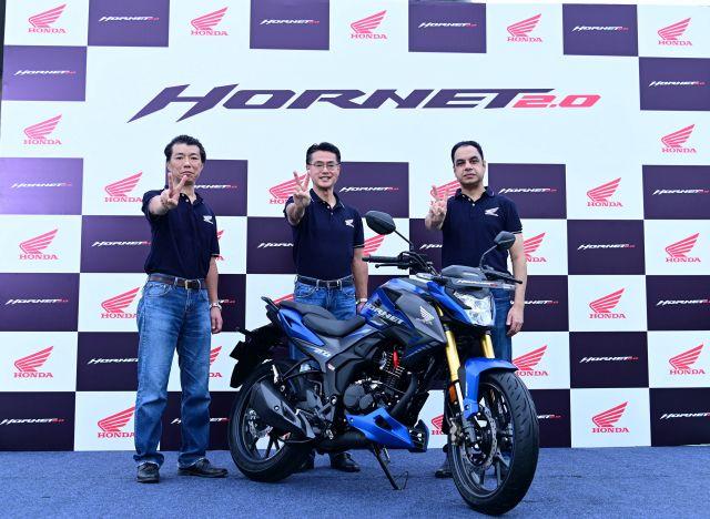 Honda launches all new Hornet 2.0 WEB