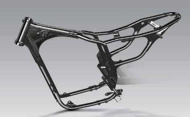Honda H'Ness Chassis WEB
