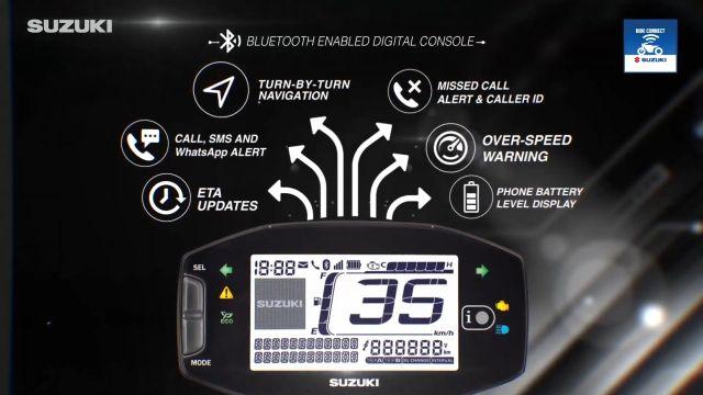 Suzuki India Bluetooth-Enabled Digital Console 1 WEB
