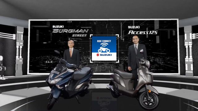 Suzuki India Bluetooth-Enabled Digital Console 2 WEB