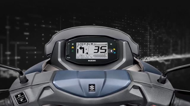 Suzuki India Bluetooth-Enabled Digital Console 3 WEB