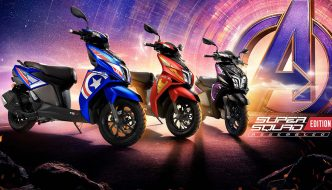 2020 TVS Ntorq 125 SuperSquad Edition Launched in India