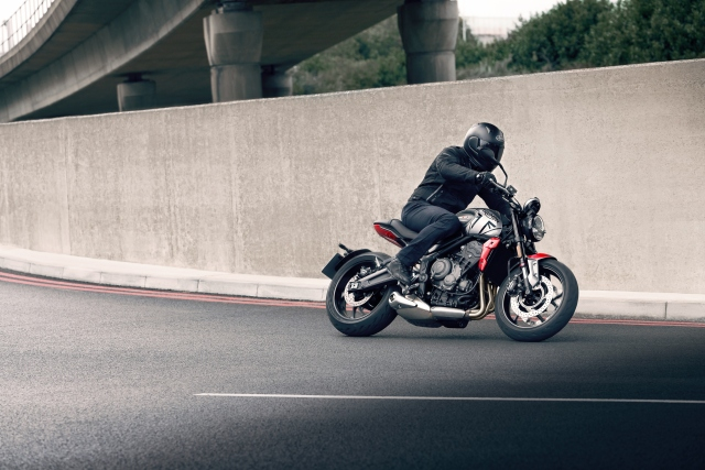 The Triumph Trident roadster has been launched