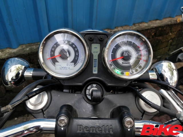 Odometer reading on Benelli Imperiale 400