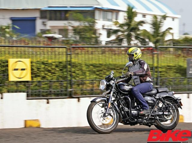 Benelli Imperiale 400 in Bike India long-term fleet