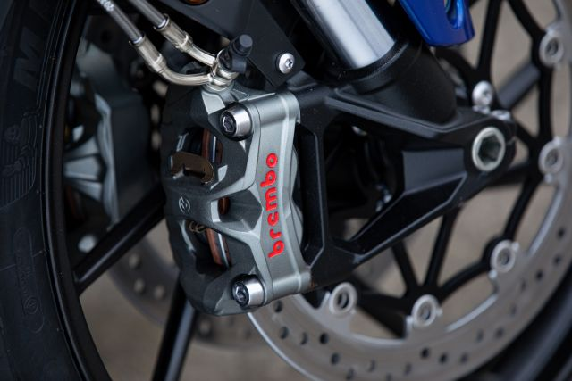 Tiger 850 Sport - Brembo Stylema Brake Calipers WEB