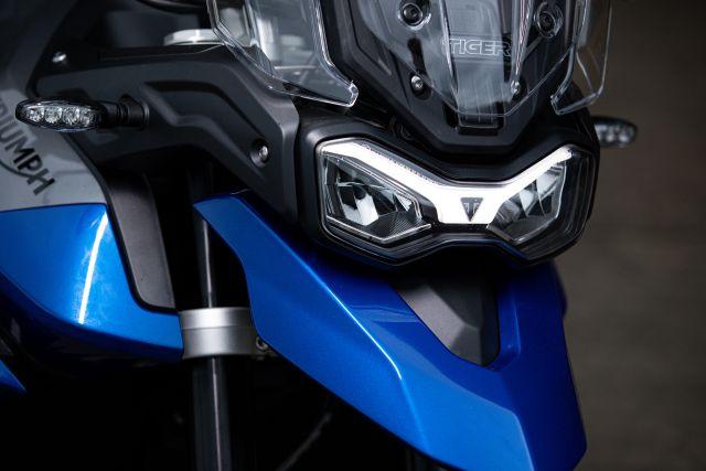 Tiger 850 Sport - LED headlight and indicators WEB