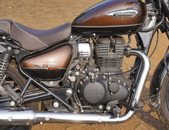 Royal Enfield Meteor 350 Engine