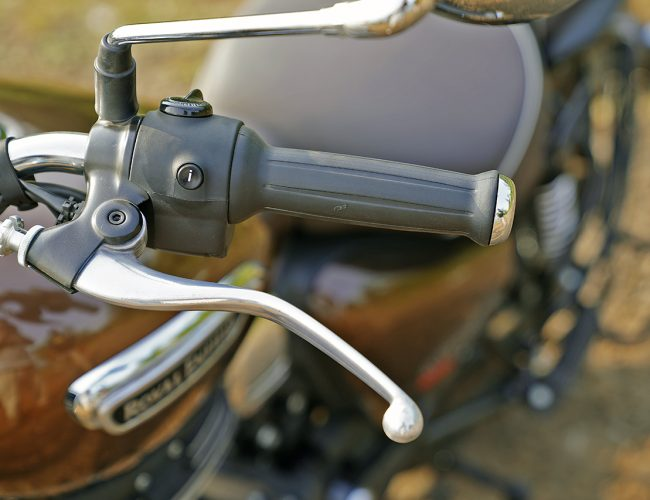 Royal Enfield Meteor 350 clutch lever