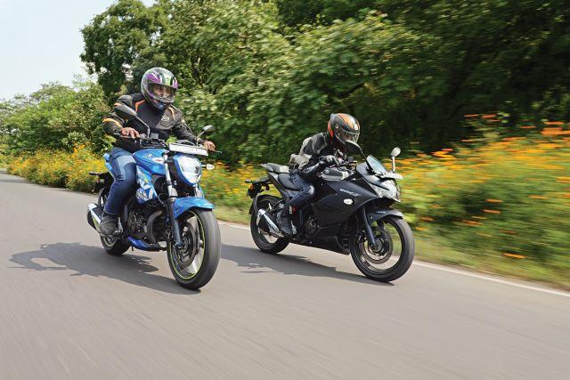 Suzuki Gixxer 250 and SF 250 5