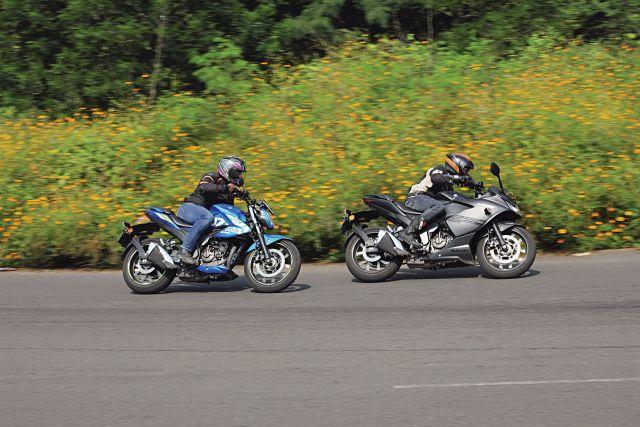 Suzuki Gixxer 250 and SF 250 1