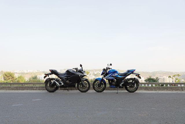 Suzuki Gixxer 250 and SF 250 4