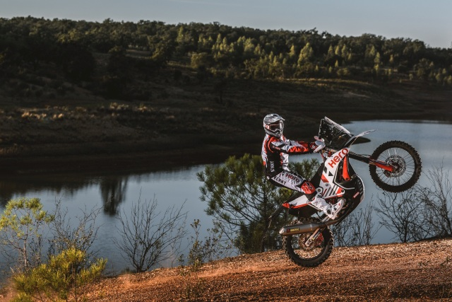 Sebastian Buhler is part of the Dakar 2021 line-up