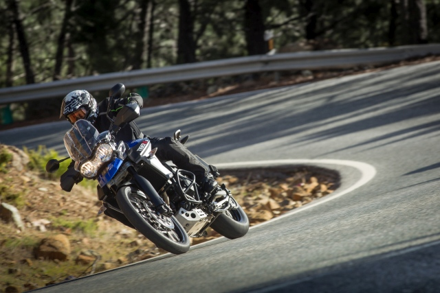 Older models of the Triumph Tiger and Street Triple RS get Triumph Connectivity System
