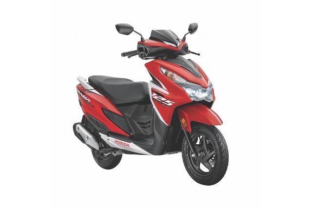 New Honda Grazia 125 scooter price specs