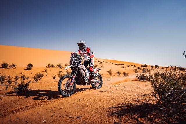 Hero MotoSports Team Rally rider, Sebastian Buhler WEB