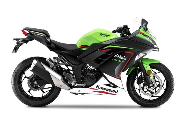 BS6 Kawasaki Ninja 300 revealed