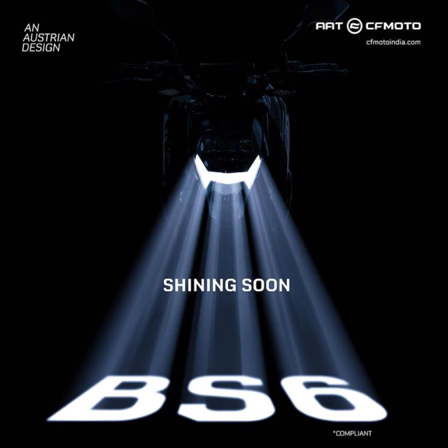 BS6 CF Moto 300NK