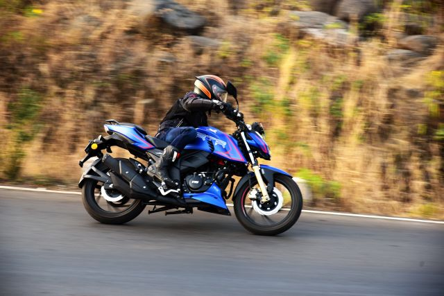 TVS Apache RTR 200 4V with Ride Modes 1 WEB