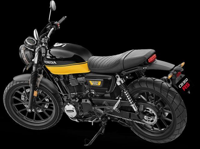 Honda CB350 RS Black with Pearl Sports Yellow WEB