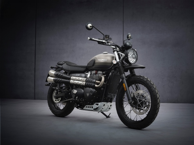 The Triumph Street Scrambler 900 Sandstorm Edition is limited to 775 units only