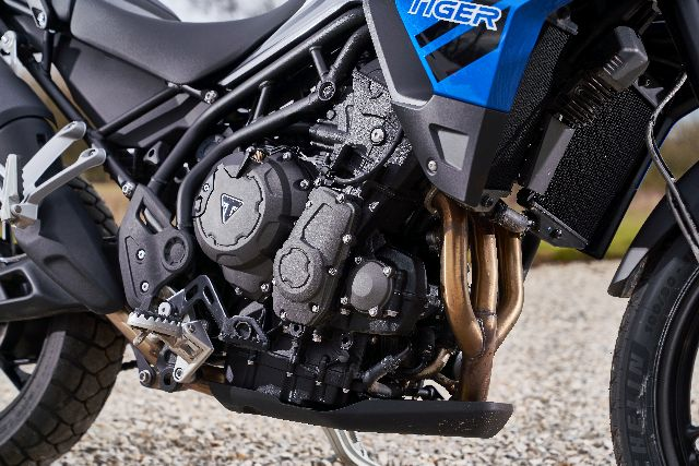 Triumph tiger 850 engine