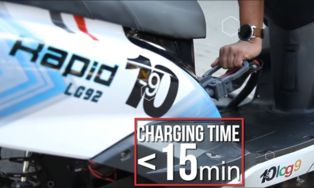 Log9 Rapid Charging Batteries