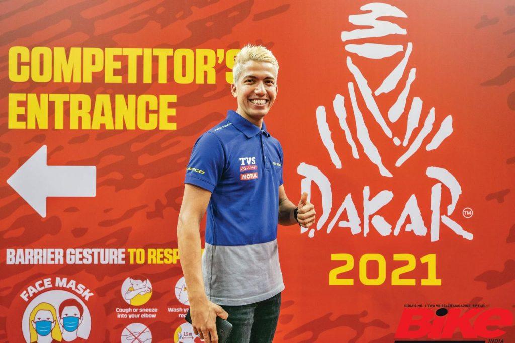 Harith Noah at Dakar